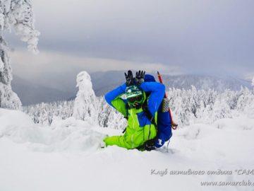 Фото на снегу