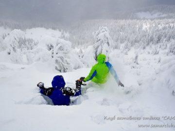 Катаемся по снегу