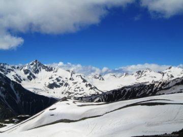Вид на горный массив