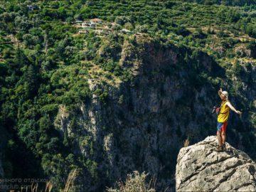 Долина Бабочек над пропастью