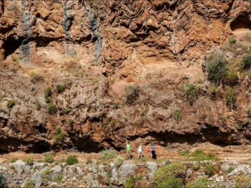 Долина Бабочек скалы