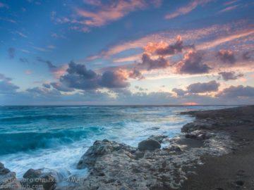 Фонтана Амороза море на закате