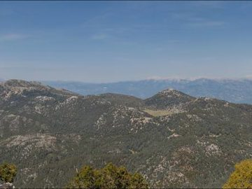 Гора Бабадаг панорама