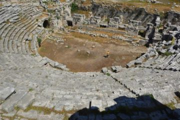 Город Патара руины амфитеатра