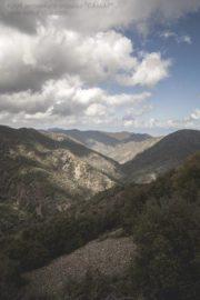 Горы Троодос облачно