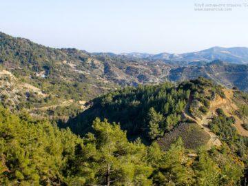 Горы Троодос вид сверху