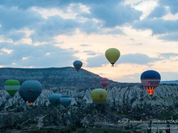 Подъем воздушных шаров