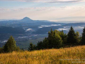 Поселение вид с горы