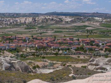 Поселение вид со скалы