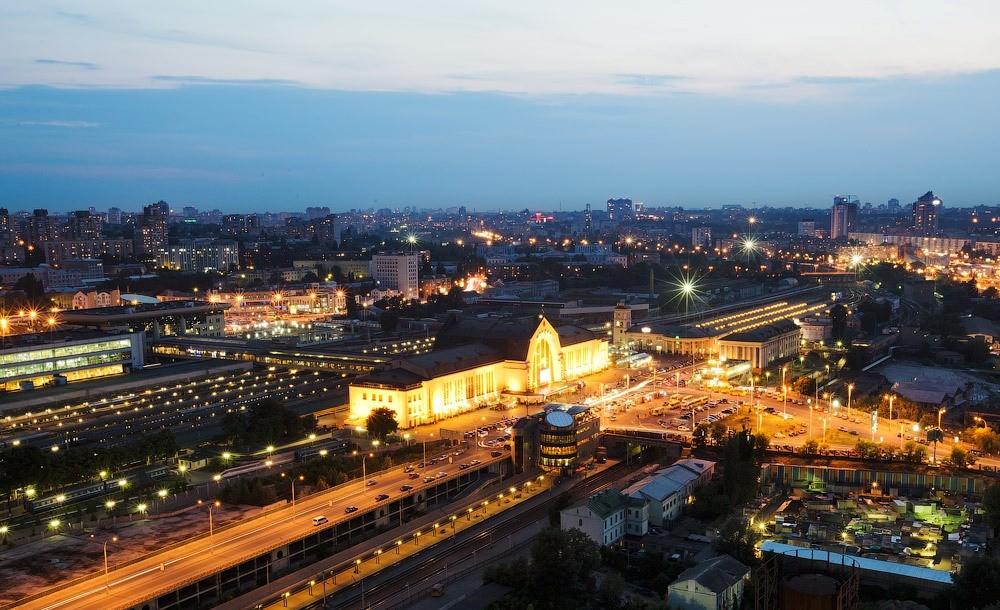 Вокзал ночью