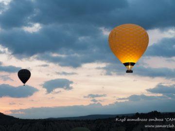 Желтый воздушный шар