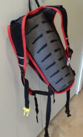 Рюкзак с вентилируемой спинкой