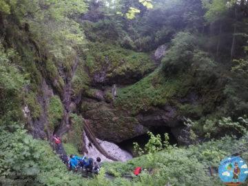 Пещера Скэришоара вид сверху