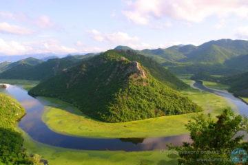 Река в Черногории