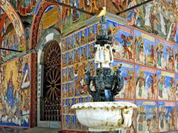 Рильский монастырь иконы внутри