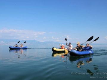 Скадарское озеро на байдарках