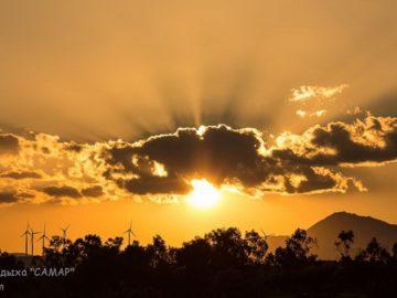 Солнце в облаке