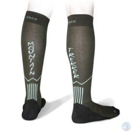 Черные треккинговые носки