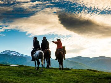 Экскурсия на лошадях