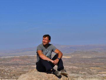 Фото на фоне плато