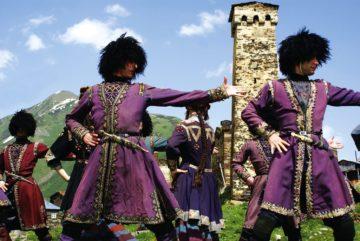 Грузинскте народные танцы