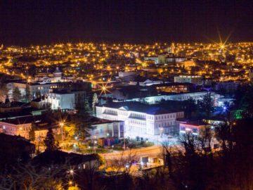 Кутаиси ночью