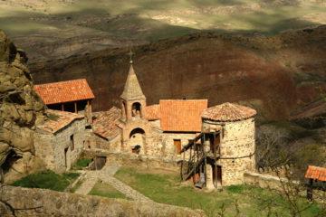 Монастырь на территории двух стран — Давид Гареджи