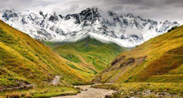 Перед горой Шхара