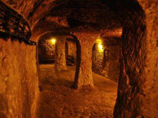 Подземные стороения в горе