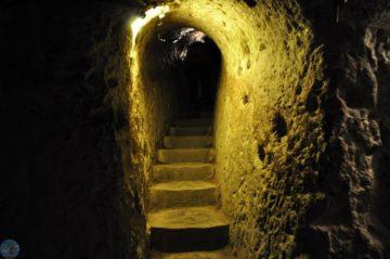 Подзкмный тунель в горе