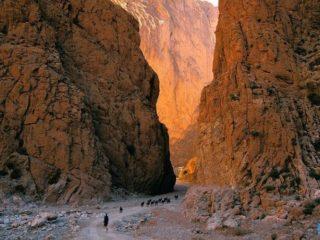 Ущелье Тодра в Марокко