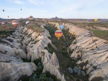 Воздушные шары в Кападокии