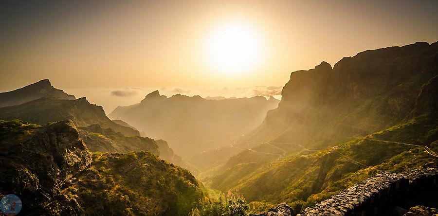 Горы на острове Тенерифе