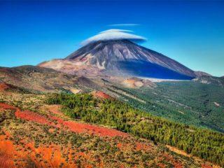 Красочное фото горы