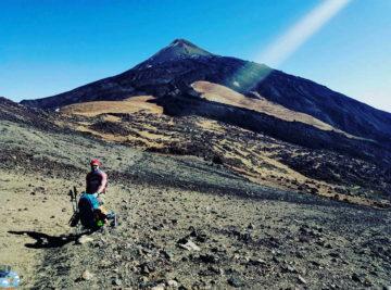 Возле горы Тейде