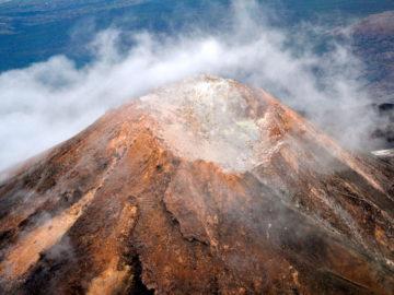 Вулкан Тейде сверху