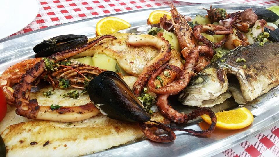 Жареные морепродукты