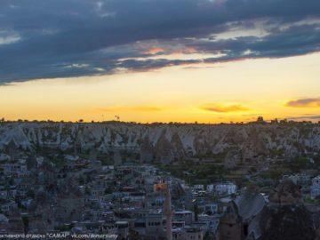 Город вид сверху