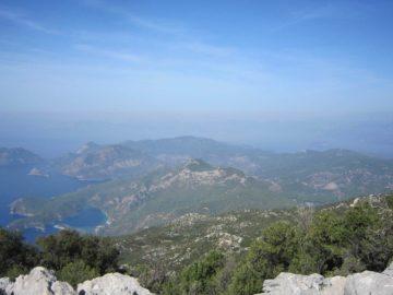 Холмы вид сверху