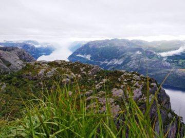 На вершине фьорда
