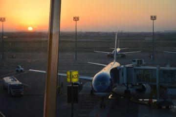 Самолет в аєропорту