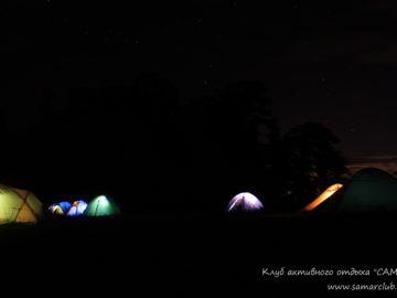 Светящиеся палатки