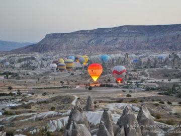 Воздушные шары на взлете