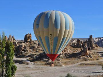 Воздушный шар в полете