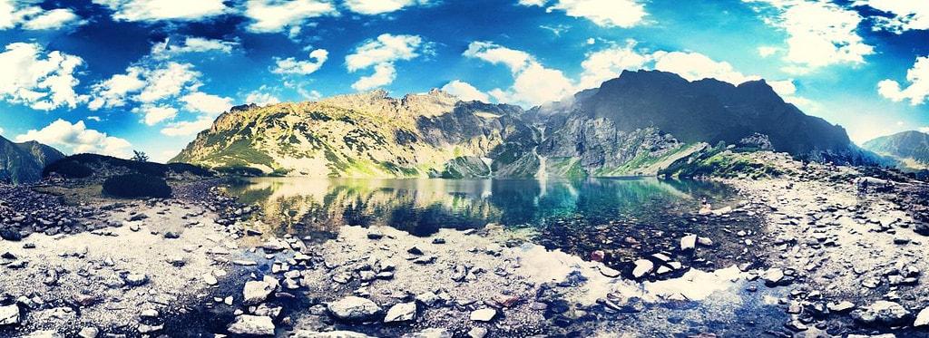 Возле озера
