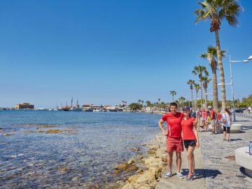 Наши туристы на набережной