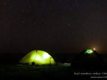 Ночевка в платках