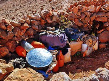 Склад запасов в камнях