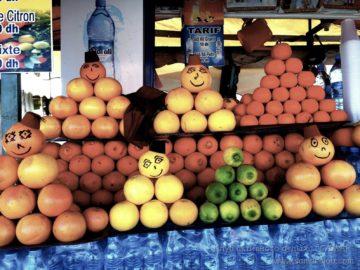 Улыбающиеся фрукты