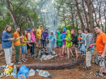 Фото в лагере